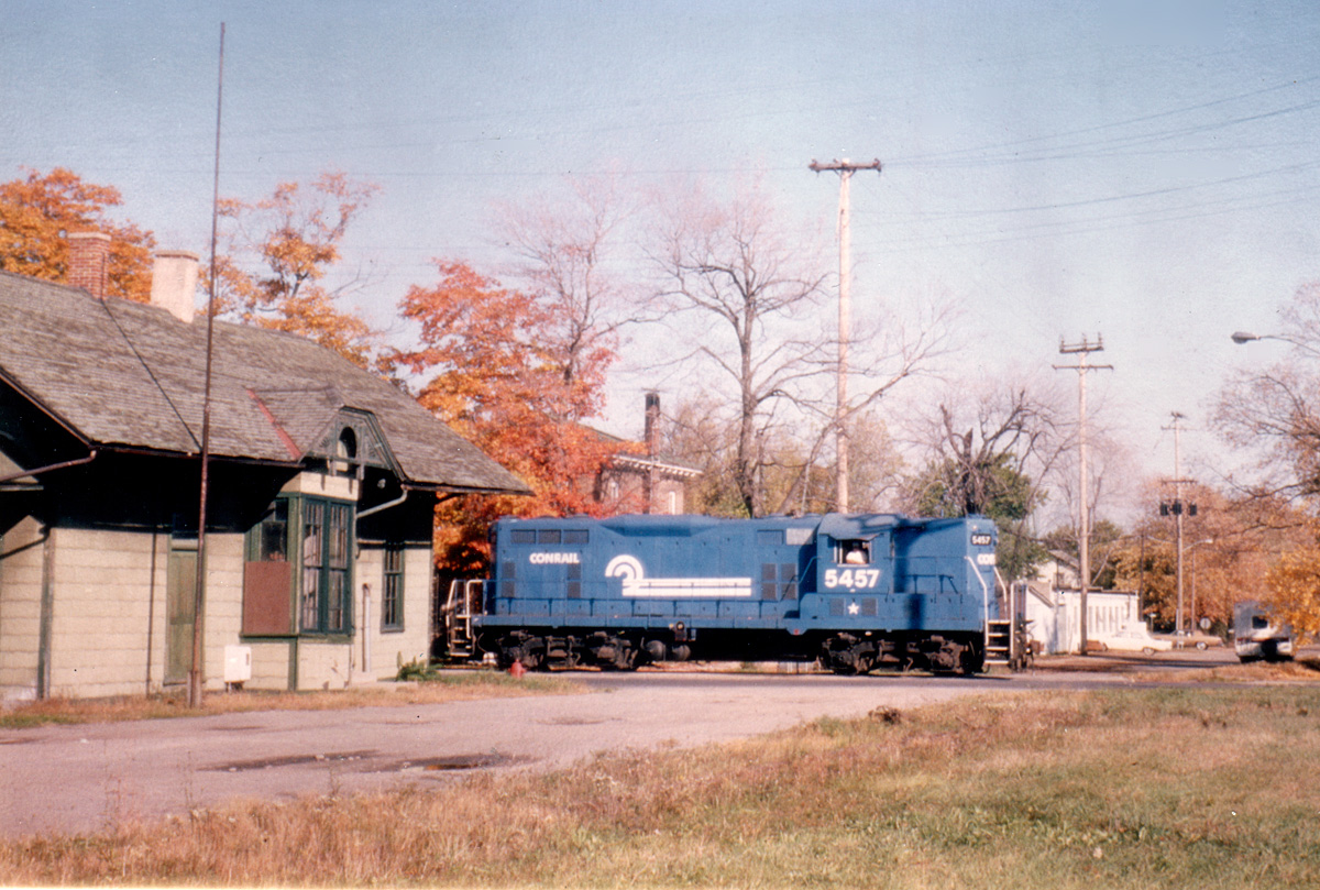 Southbound Clinton Local at Tecumseh, MI.