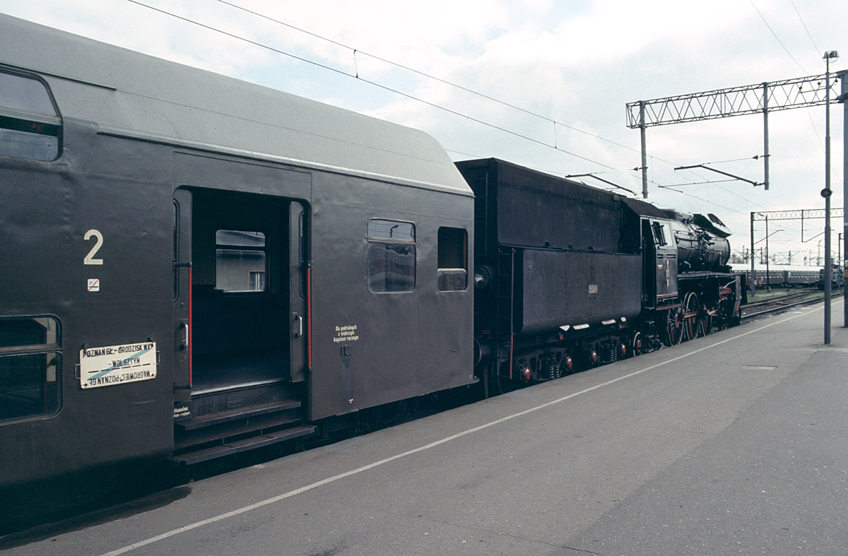 Ol49-32 on train to Wolsztyn