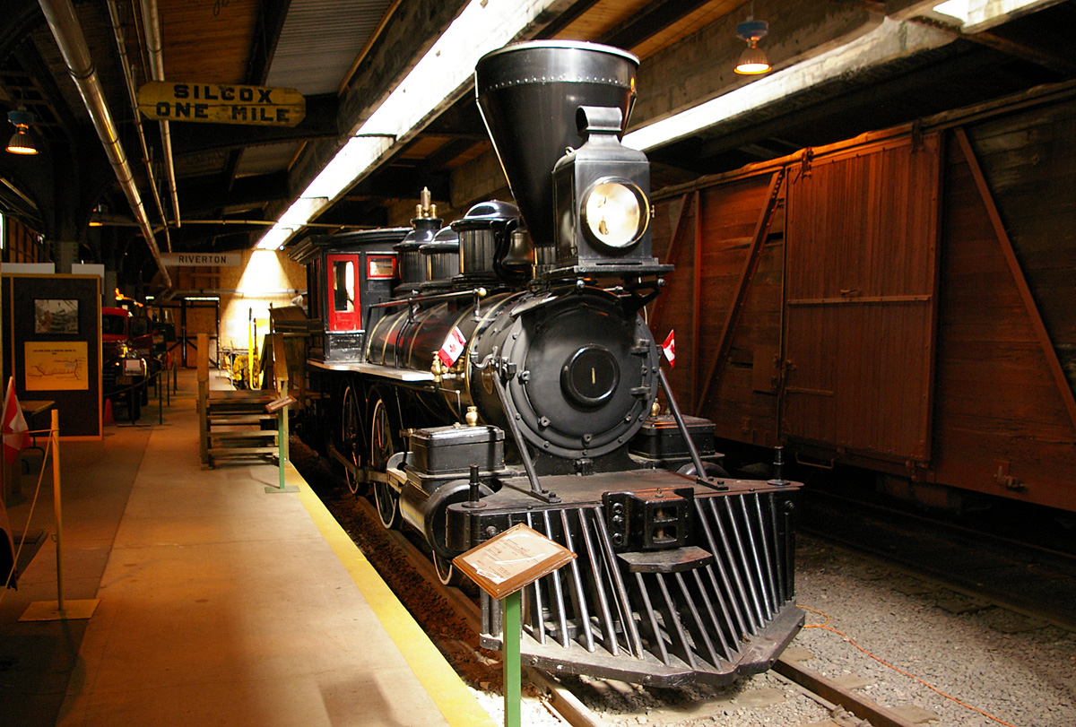 Countess of Dufferin in the Winnipeg Railway Museum