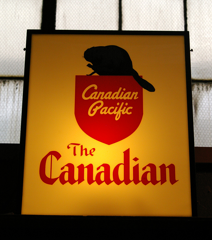 Original Canadian sign