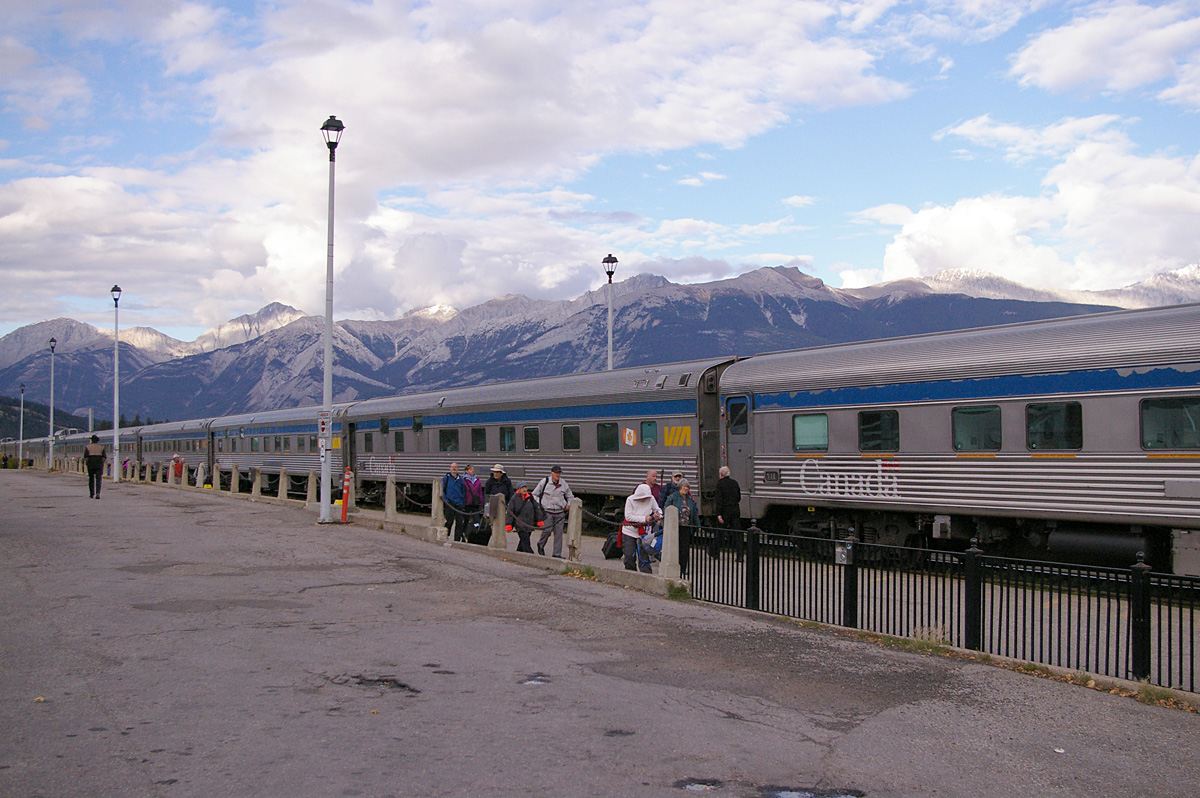 The Canadian at Jasper, Alberta