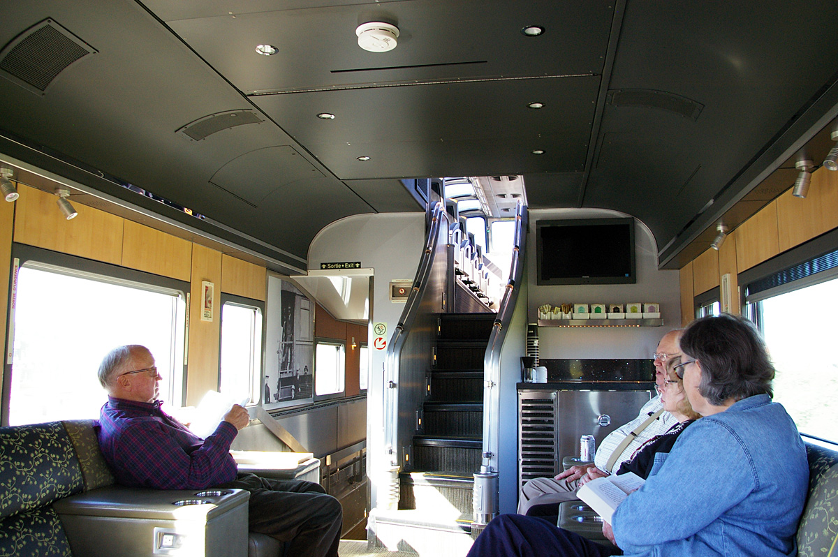 Lounge in the Park car