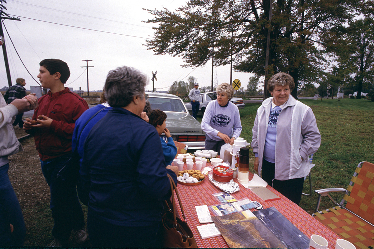 Refreshments at Raisin Center