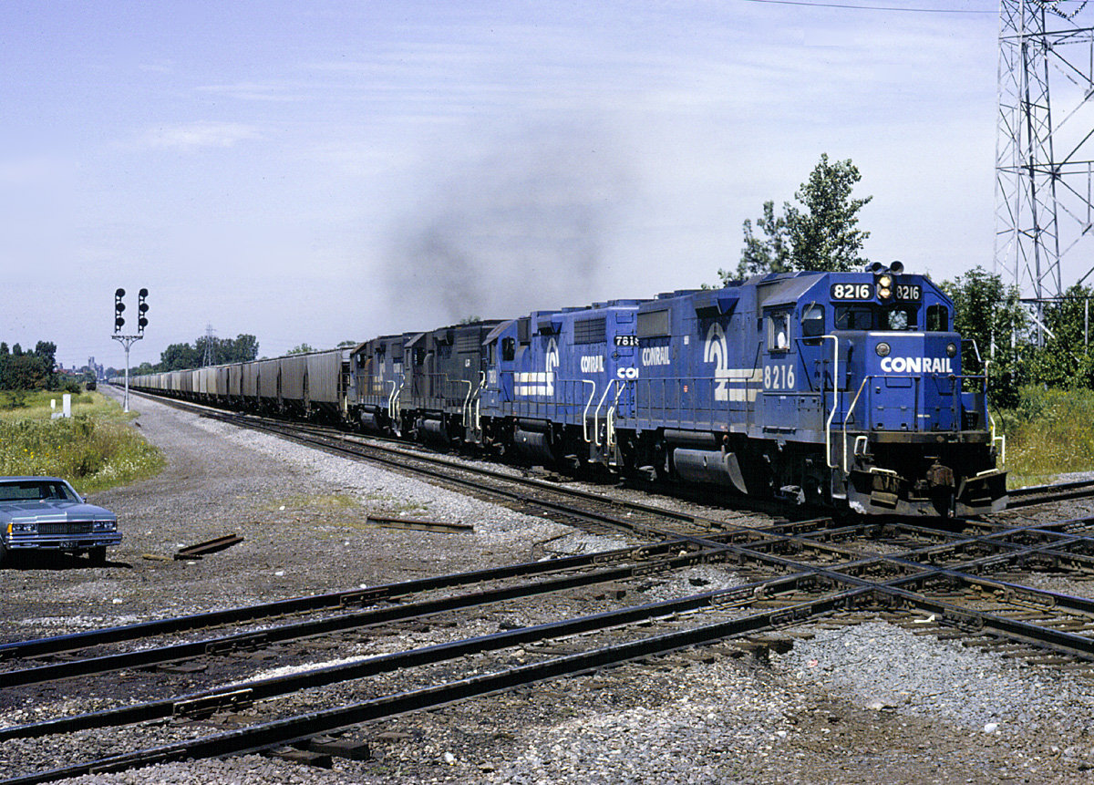 Conrail at Vickers