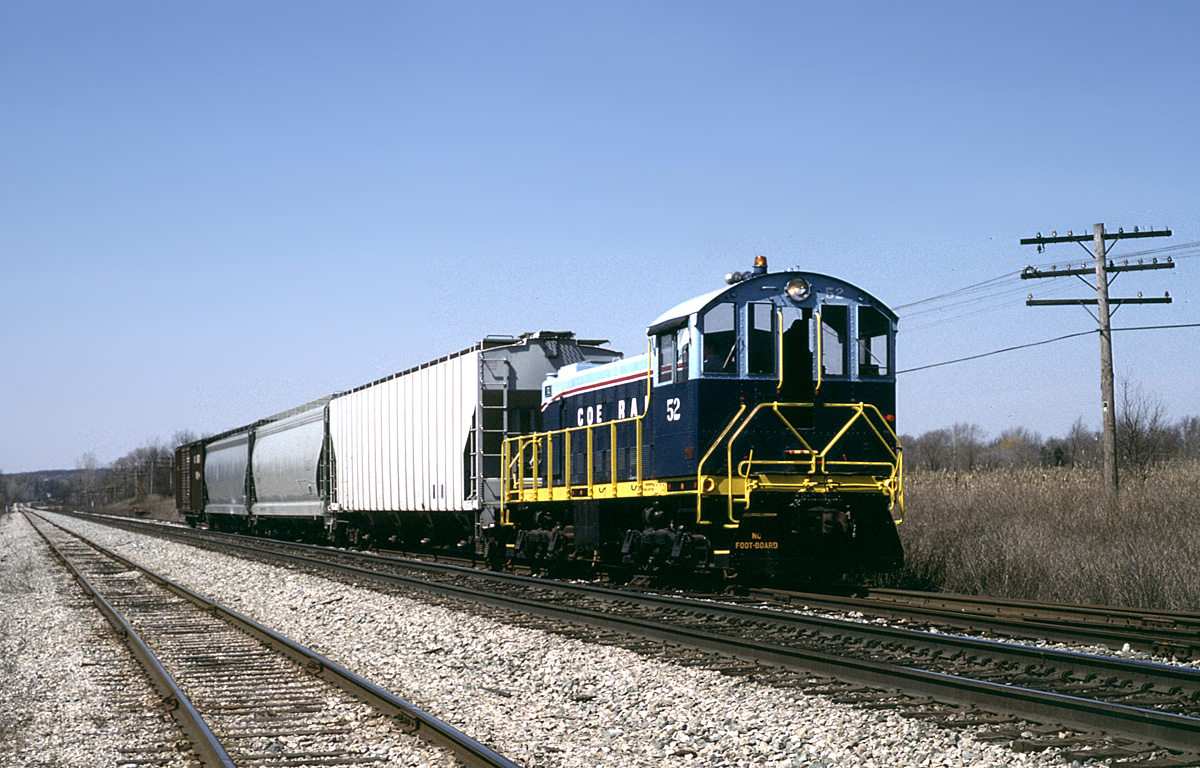 Coe Rail 52 at Wixom, MI