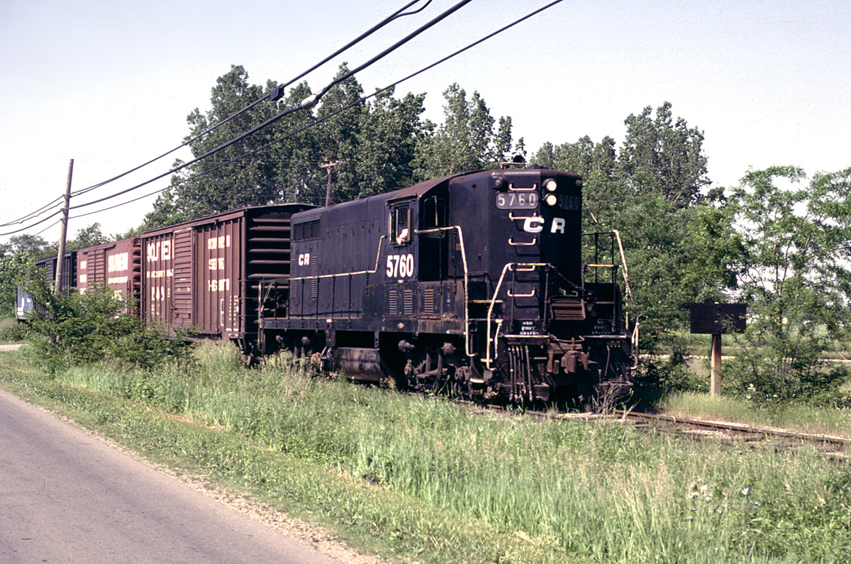 CR 5760 south of Tecumseh