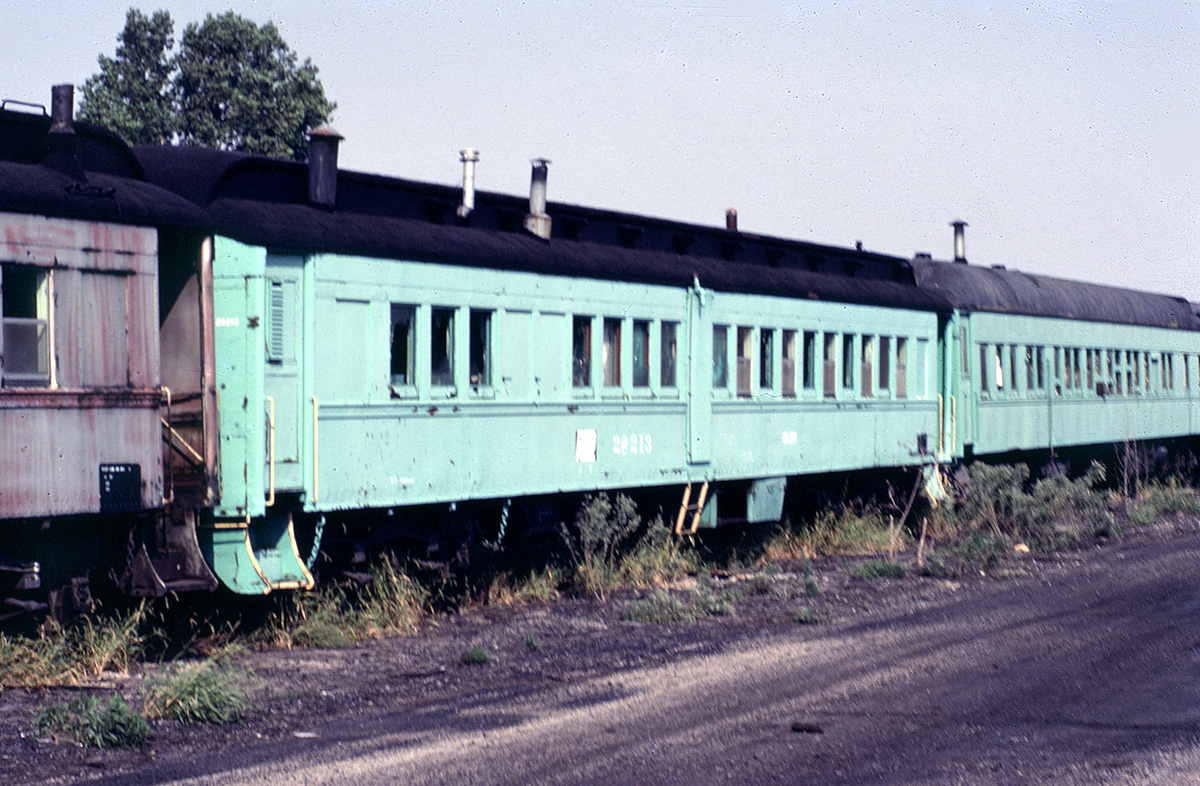 Conrail camp car at Toledo