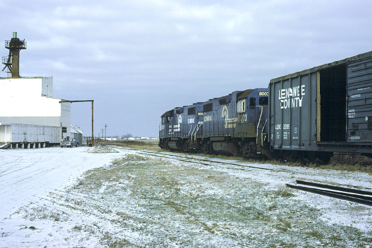 Derailment at Riga, MI on 30 December 1982