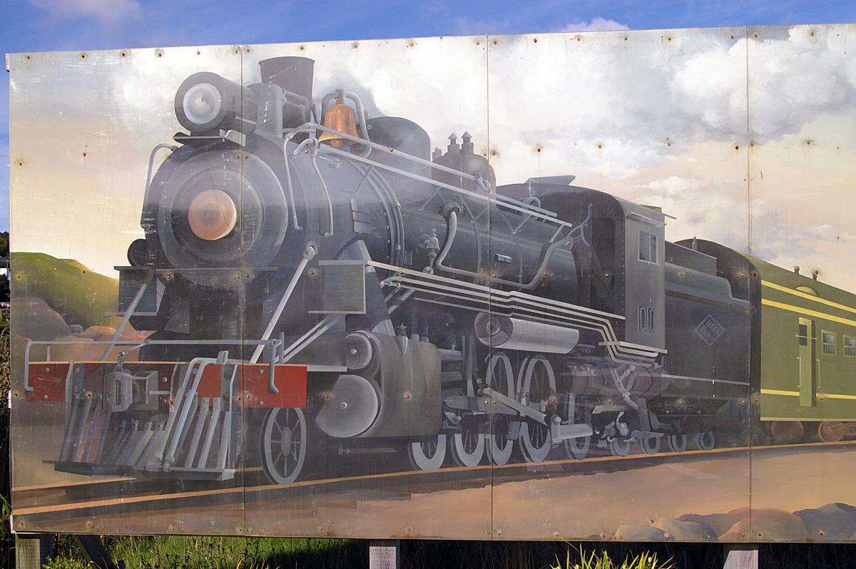 Mural at Holyrood