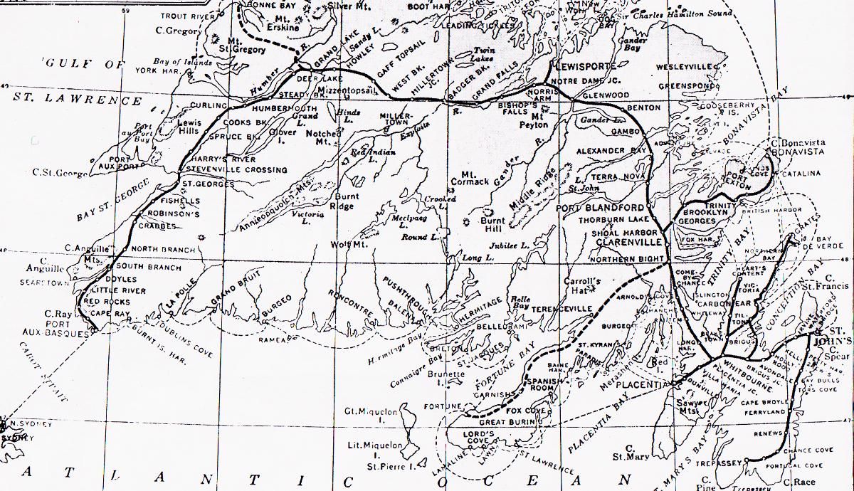 Newfoundland Railway no date