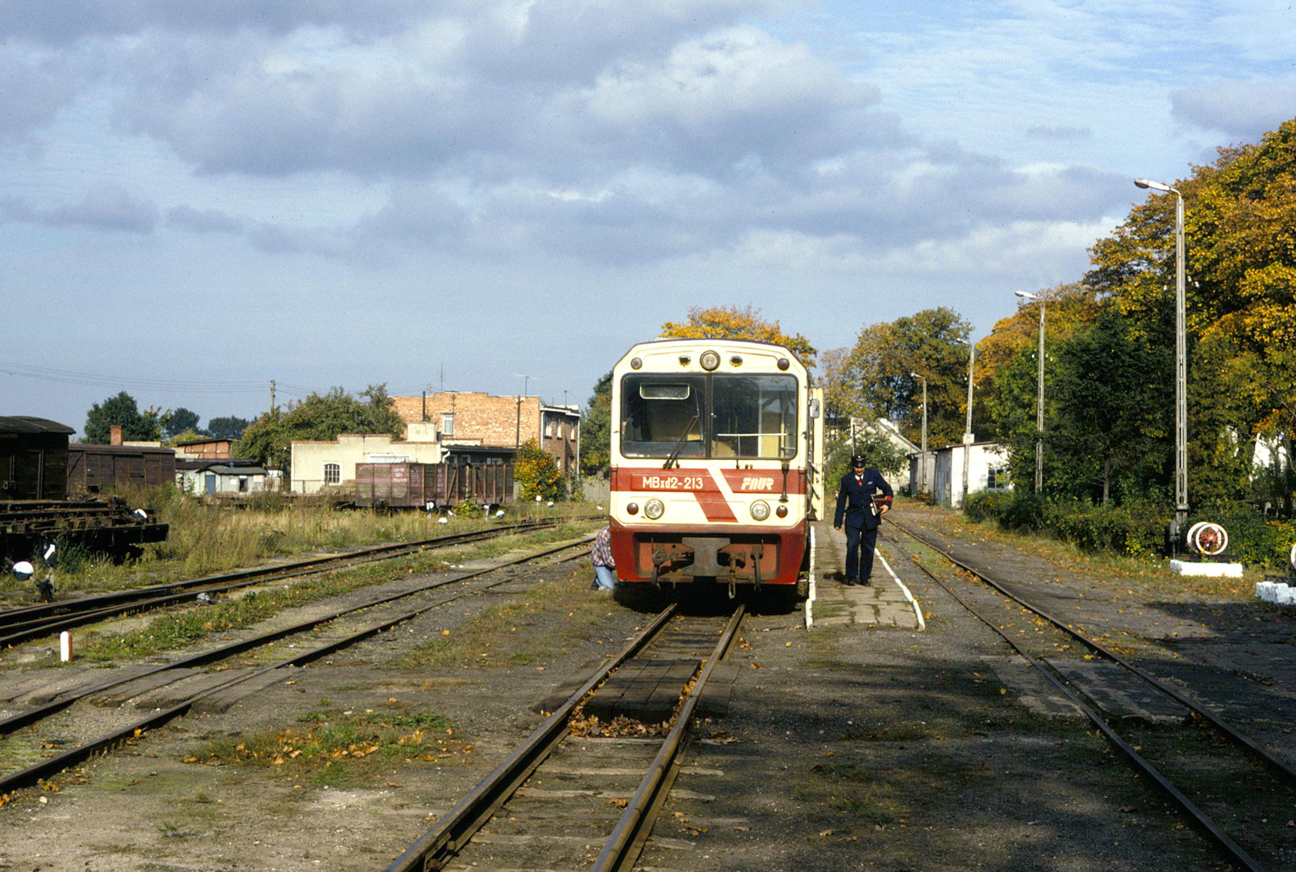 Station at Nowy Dwór Gdański