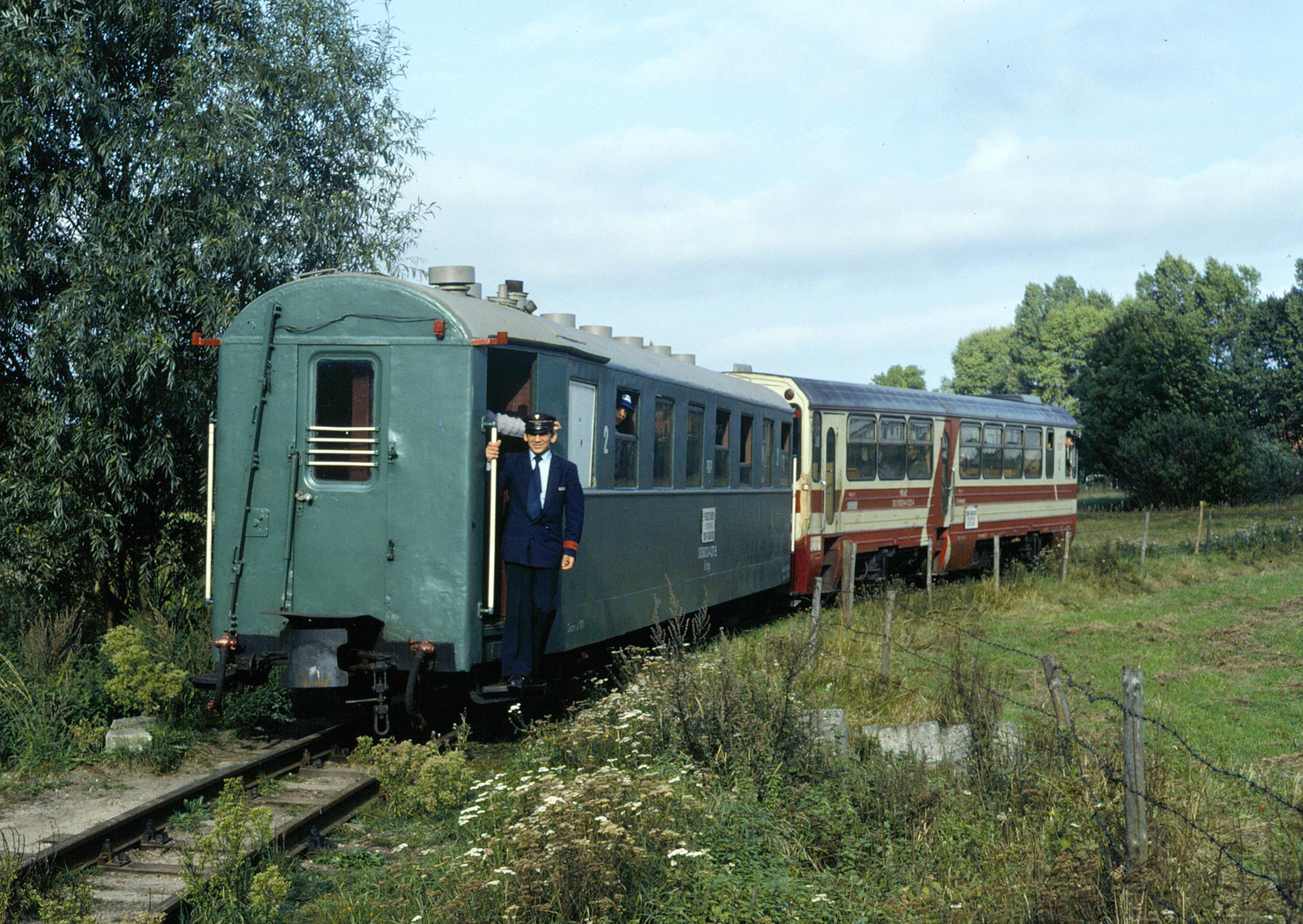 Train at Stegna Gdańska