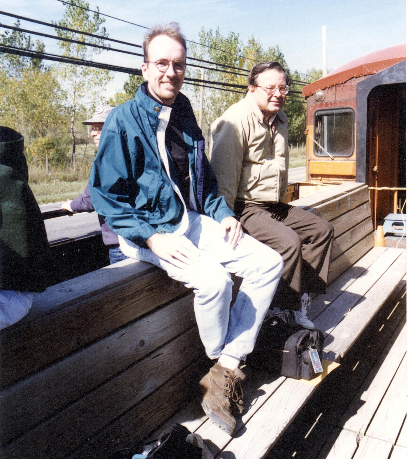 Jeffrey Dobek and Ed Hodges