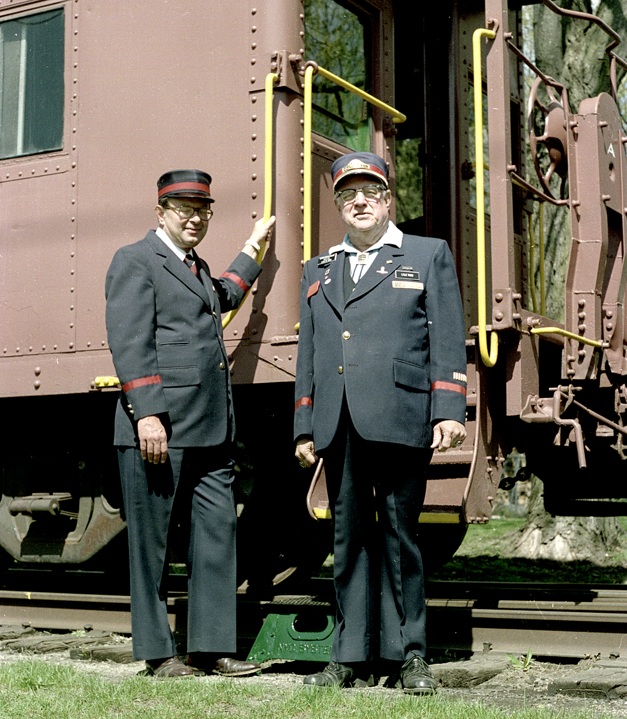 SMRS train staff