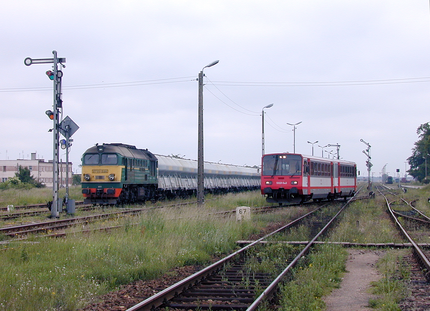 Trains at Czersk