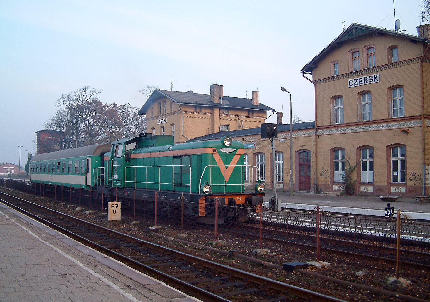 PKP SP42 at Czersk