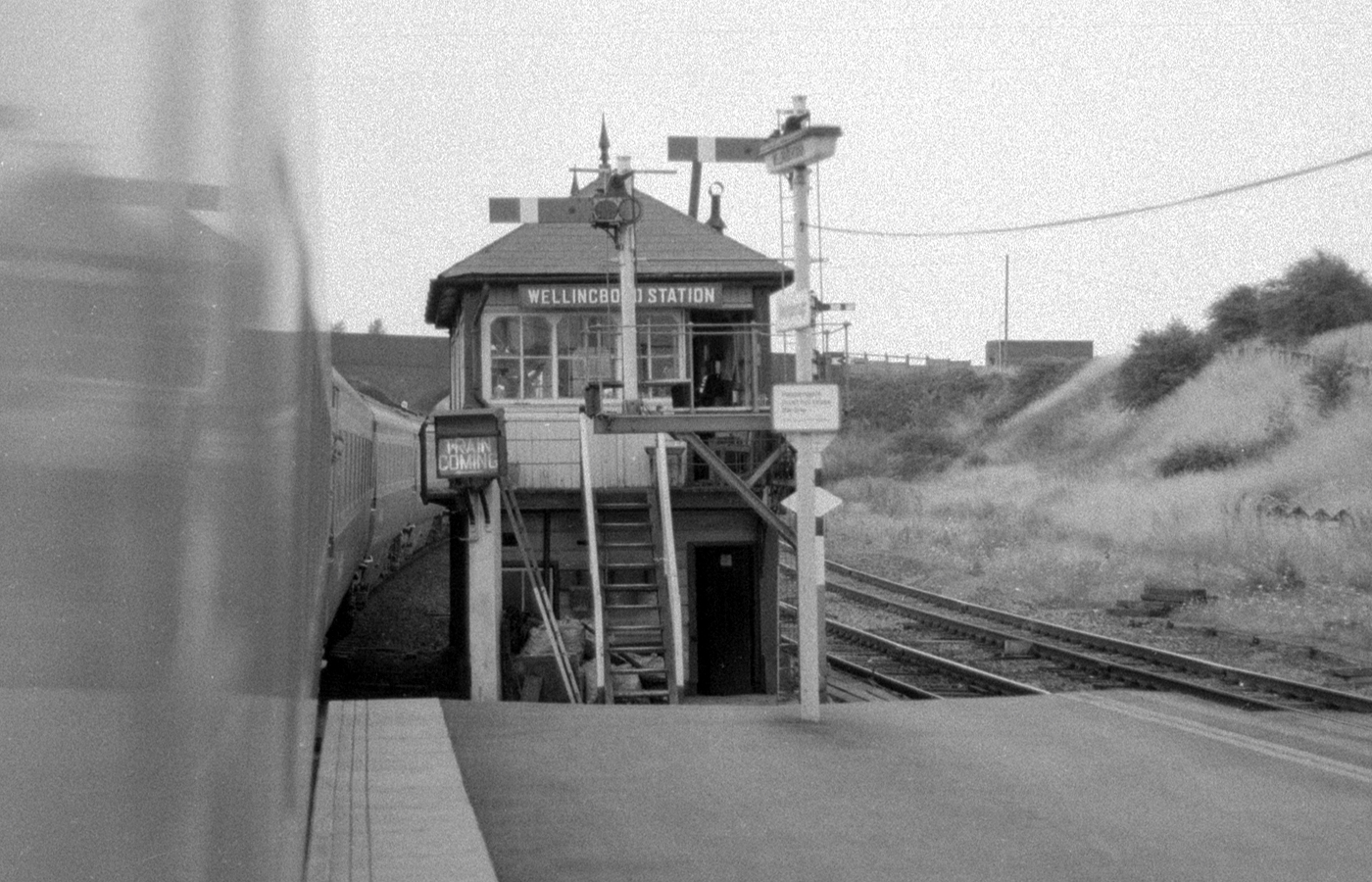 Wellingborough Station signal box