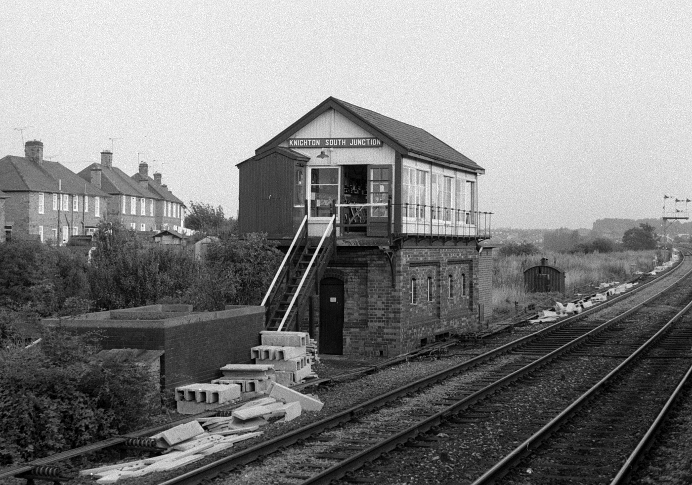 Knighton South Junction signal box