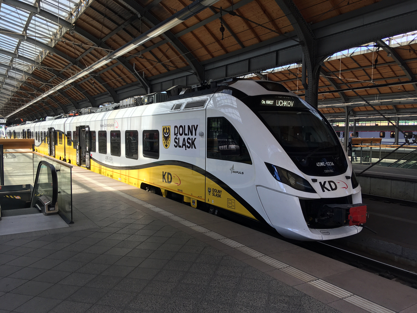 KD train at Wrocław