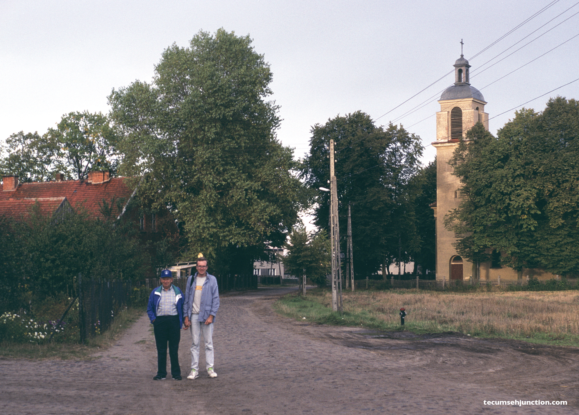Stanley and Jeffrey Dobek at Odry, Poland