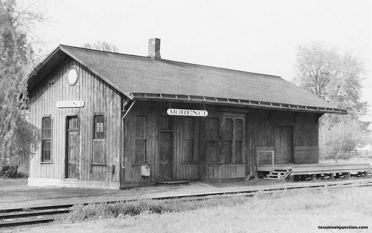 The Morenci depot ca. 1950